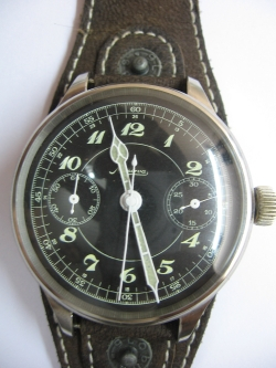 Vintage Minerva Chronograph watch 1