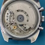Lemania chronograph movement