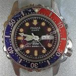Pulsar Quartz Divers Watch