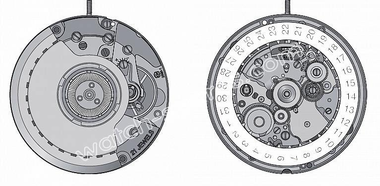 ETA 2893.1 watch movements 1